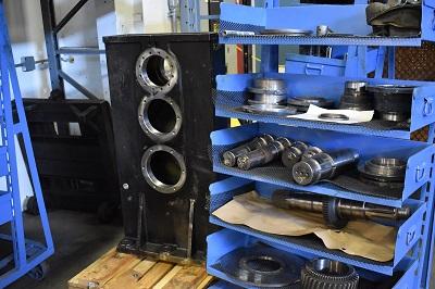 Cotta Gearbox Repair Rebuild
